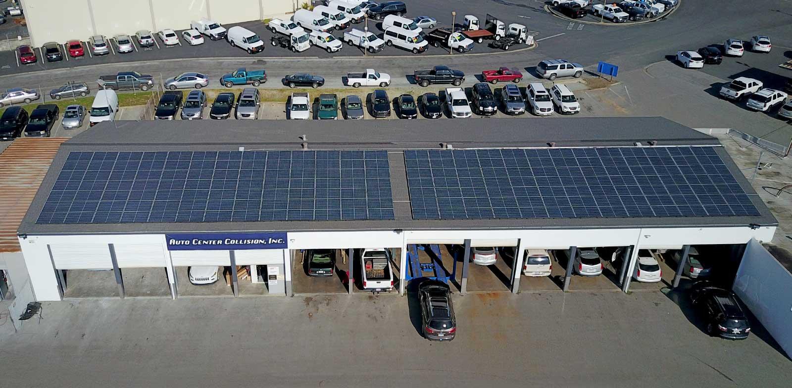 Watsonville GMC - Solar Installation